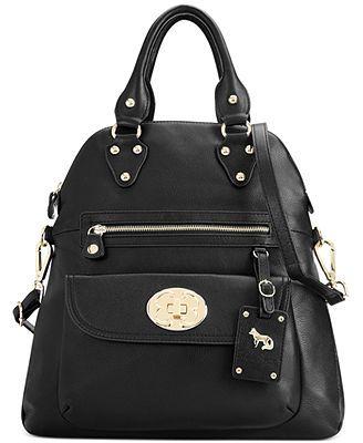 Emma Fox Handbag, Classics Leather Large Foldover Tote