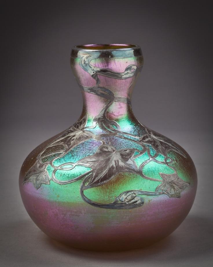 258 Best Loetz Glass Images On Pinterest Art Nouveau Glass Vase