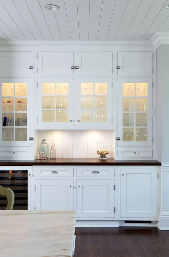 White Ship Lap Kitchen Kitchens Pinterest Kitchen