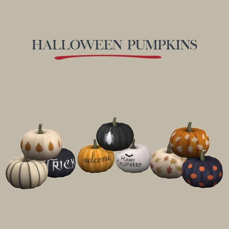 Halloween Pumpkins – Leosims.com