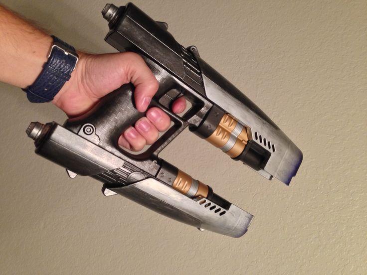 Customized Nerf - Pewter, copper, gun metal grey