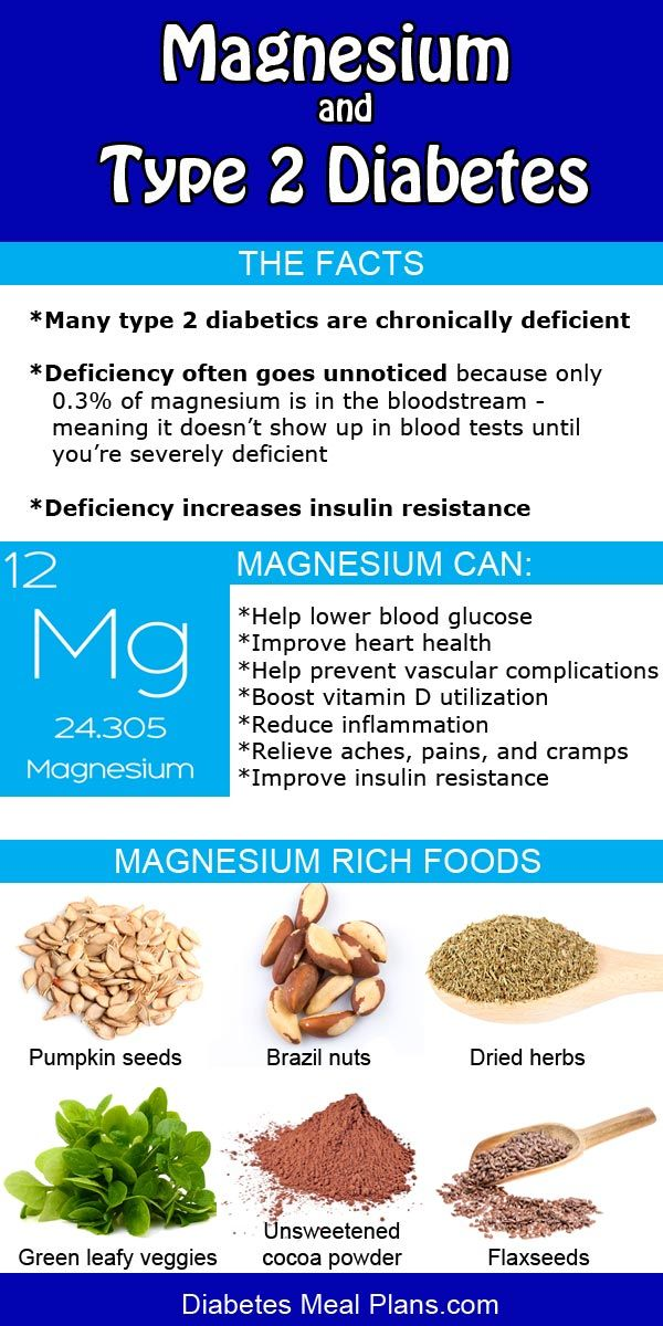 Magnesium and Diabetes                                                                                                                                                                                 More