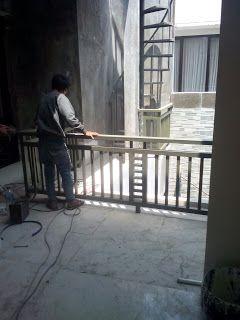 Reling tangga dan balkon | Arbainlas.com