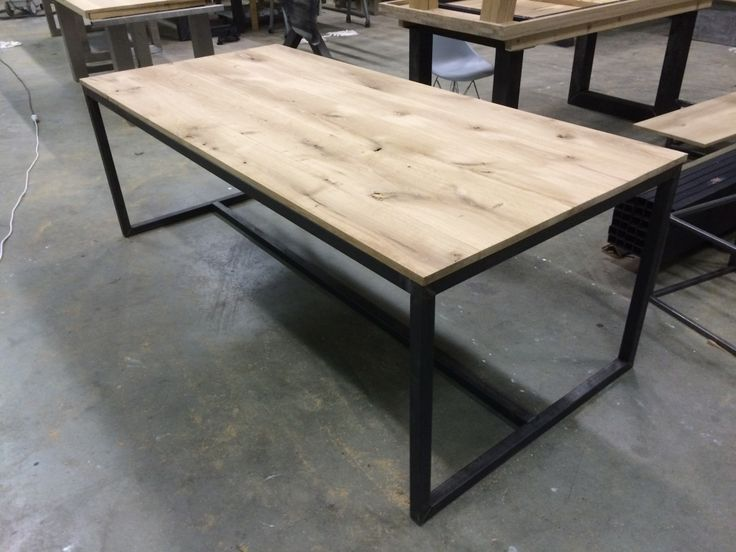 Tafel 4cm staal