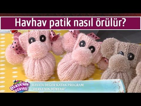 Kolay bebek patiği ve yapımı - Canım Anne - Örgü Modelleri, Yemek Tarifleri, El İşi Sitesi