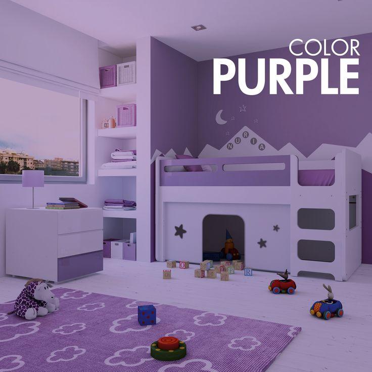 Mejores 10 imágenes de PURPLE CHILDREN\'S ROOMS en Pinterest ...