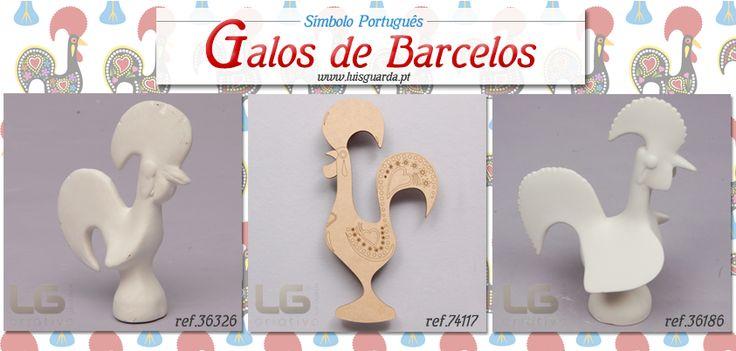 O Galo de Barcelos é um símbolo do Turismo de Portugal que não pode faltar nesta altura em começam a chegar mais turistas ao nosso país.  Pinte-o de forma tradicional ou brinque com as cores obtenha uma peça única! -> Galos de chacota: http://www.luisguarda.pt/produtos/animais -> Galos de madeira: http://www.luisguarda.pt/produtos/aplicacoes/page/5