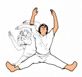 Меридианное растягивание: простые упражнения дляусиления движения жизненных сил по всему организму
