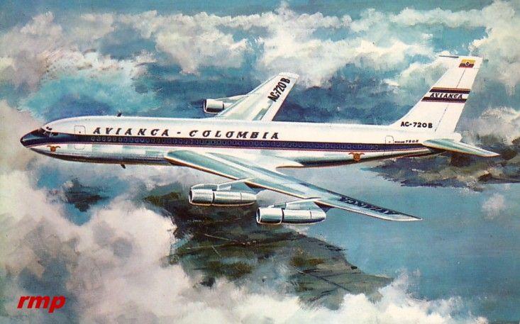 Avianca - 707 or 720?