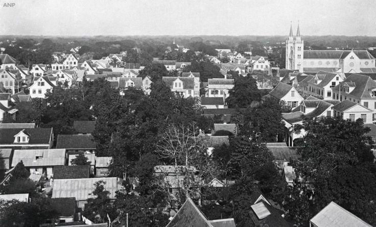 Paramaribo, Suriname, 2 december 1941 - Anp Archief