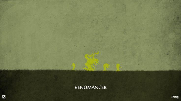 Dota 2 - Venomancer Wallpaper by sheron1030.deviantart.com on @deviantART