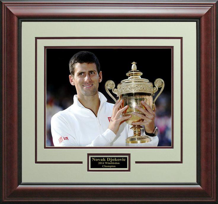 Signature Royale - Novak Djokovic 2014 Wimbledon Champion Photo Display.#wimbledon, #Tennis, $52.95 (http://www.signatureroyale.com/novak-djokovic-2014-wimbledon-champion-photo-display/)