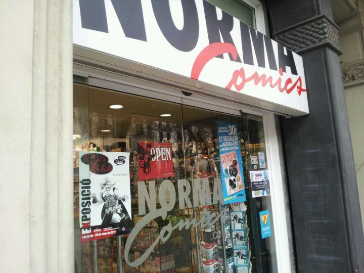 Norma Cómics en Barcelona, Cataluña