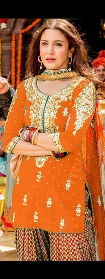 Ethnic Patiyala Salwar Kameez Indian Pakistani Designer Suit Bollywood Dress 1