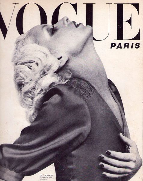Le sigh. Vintage Paris Vogue cover.