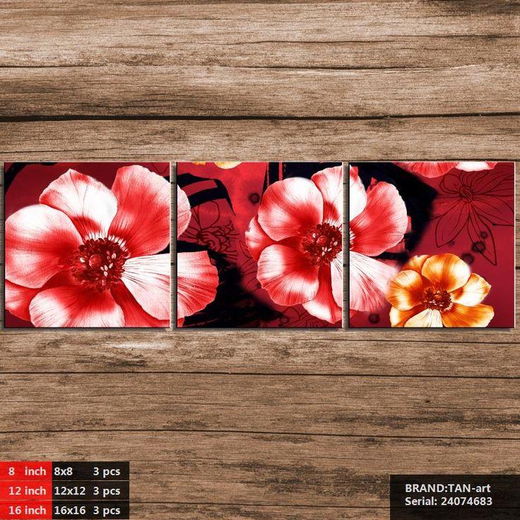 Орхидея, lotus, тюльпан, роза, Цветок хризантемы Традиционной Китайской Живописи маслом Рисование искусство Спрей Без Рамы Холст 24074683