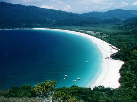 Lopez Mendez Beach, Ilha Grande, Brazil.