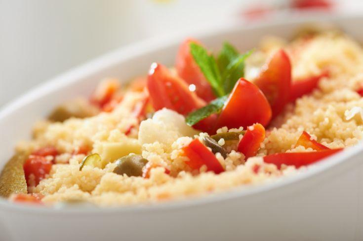Kuskus so zeleninou a mozzarellou