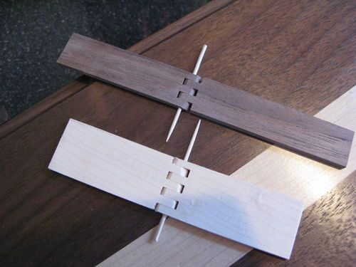 Wooden Hinges - by DKV @ LumberJocks.com ~ woodworking community