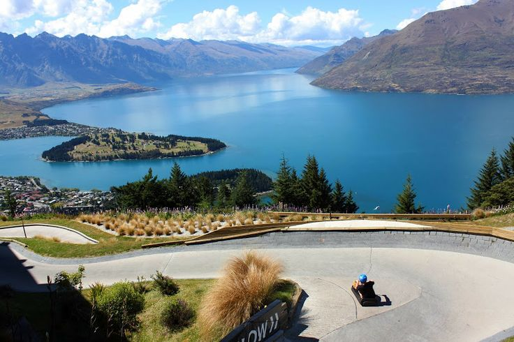 luge ride in Queenstown...Words cant explain how much fun this is, felt like a big kid, definatley returning here :-)