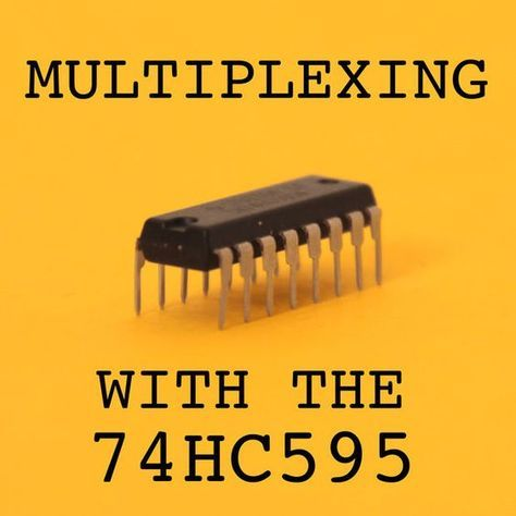 Picture of Multiplexing with Arduino and the 74HC595