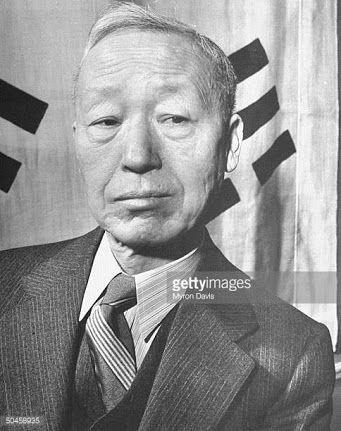 Syngman Rhee (리승만, 李承晩, April 18, 1875 – July 19, 1965)