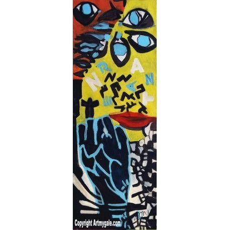 Paroles de Nazareth - Oeuvre Authentique - 700,00 €  #Art #Artiste