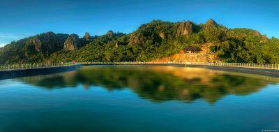 PERGIPEDIA  - Embung Nglanggeran Gunung Kidul, Telaga Di Atas Gunung . Obyek wisata baru kini had...