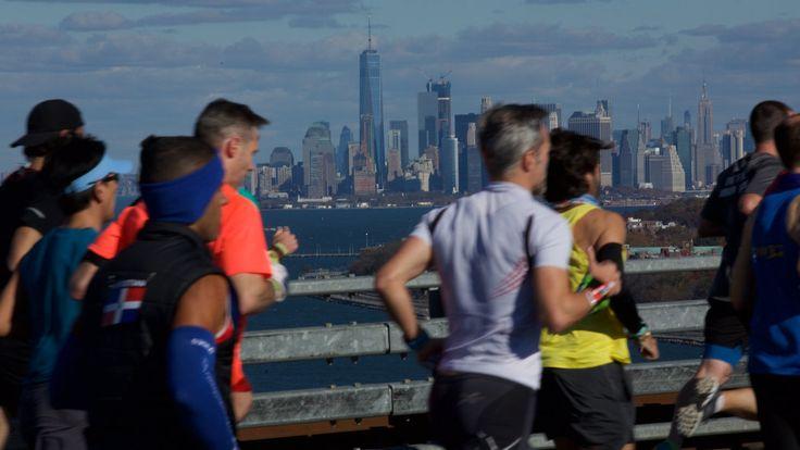 Shadow Runners in the N.Y.C. Marathon