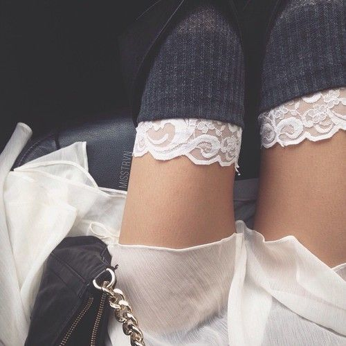 Thigh high socks handm