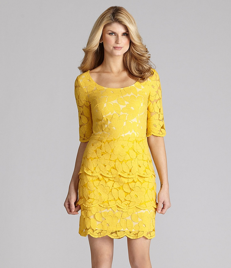 17 Best images about YELLOW DRESSES on Pinterest | Yellow gown ...
