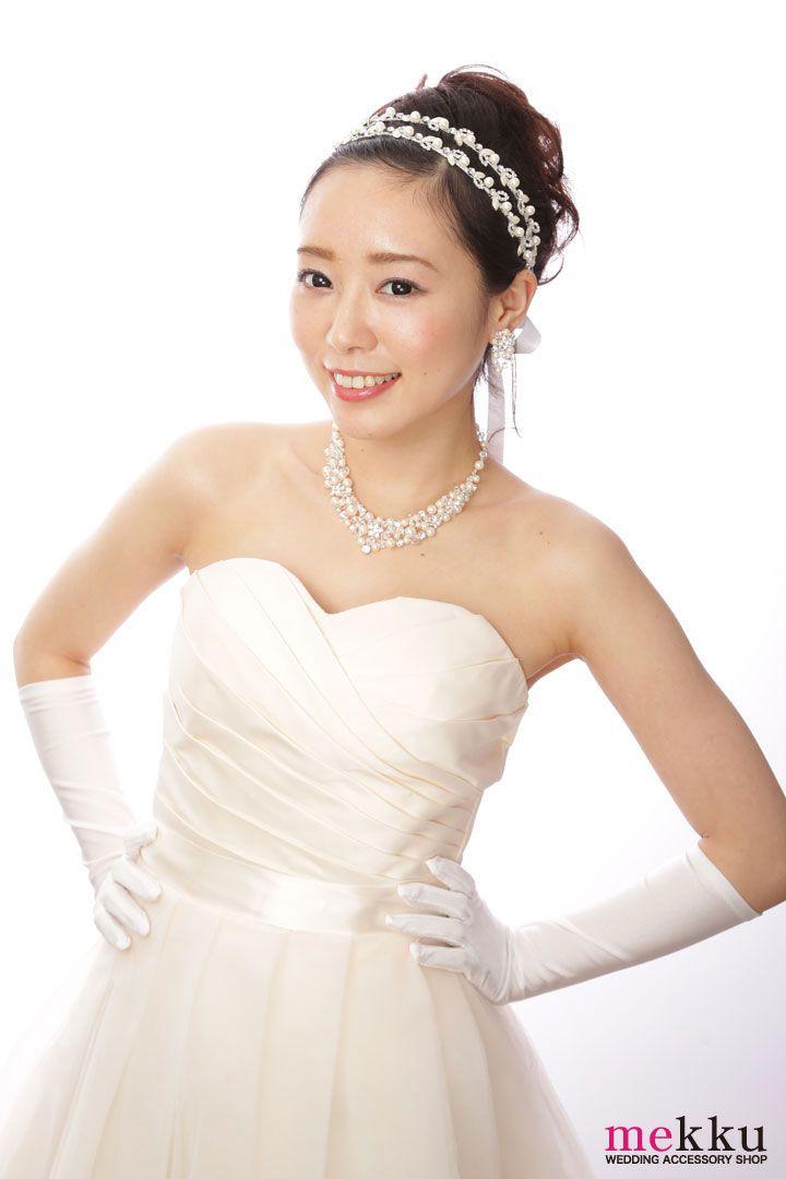 ウェディングアクセサリーSHOP専門店【mekku】おすすめアイテム♡ #mekku #bridal hairstyling #wedding #flowercrown#headdress #Bridal #ヘッドドレス #花嫁ヘア #ウェディング