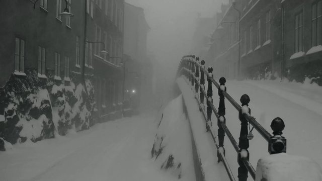 A LOT OF SNOW by Oskar Hennig Westöö