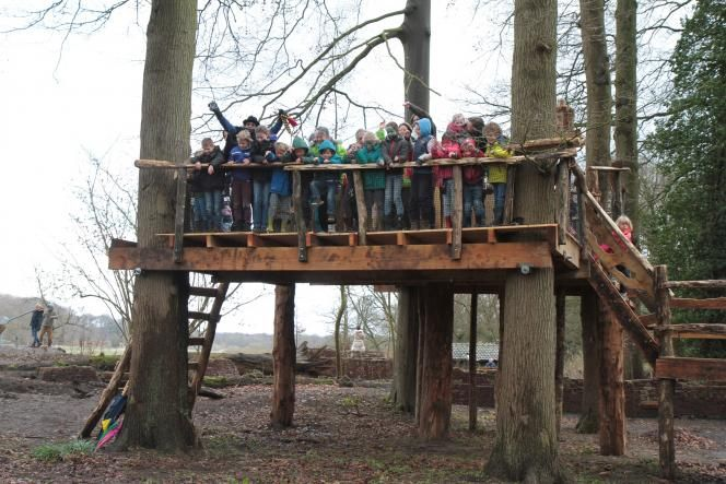 Open! Speelbos van OERRR in 's-Graveland