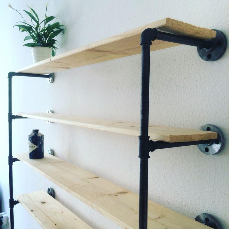 128 besten various steel pipe design bilder auf pinterest industriedesign stahlrohr und. Black Bedroom Furniture Sets. Home Design Ideas