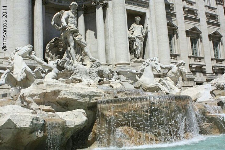 Fontana di Trevi, Rome (2011)