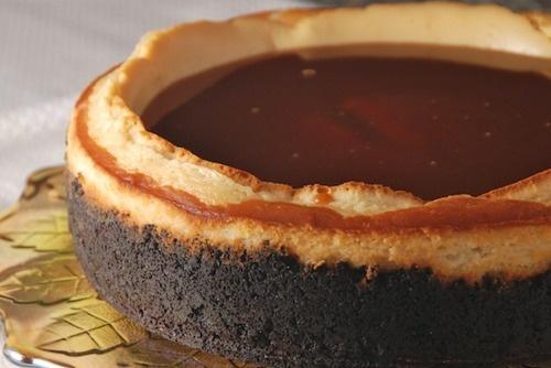 Irish Cream Caramel Cheesecake (recipe) | Easy Dessert Recipes | Pint ...