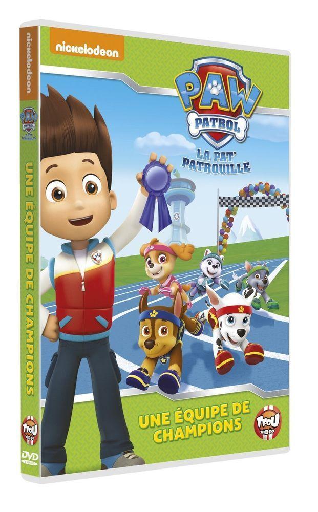 Paw Patrol, La Pat  Patrouille - 9 - Une équipe de champions  - DVD