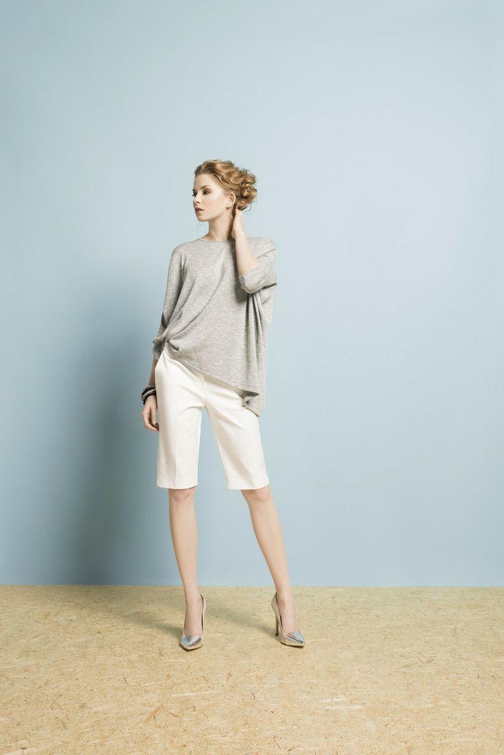 Kolekcja wiosna/lato 2014 #moda #kolekcja #lato #wiosna #wiosna-lato 2014 #SS2014 #danhen #lookbook #szorty #wakacje #szarość #casual