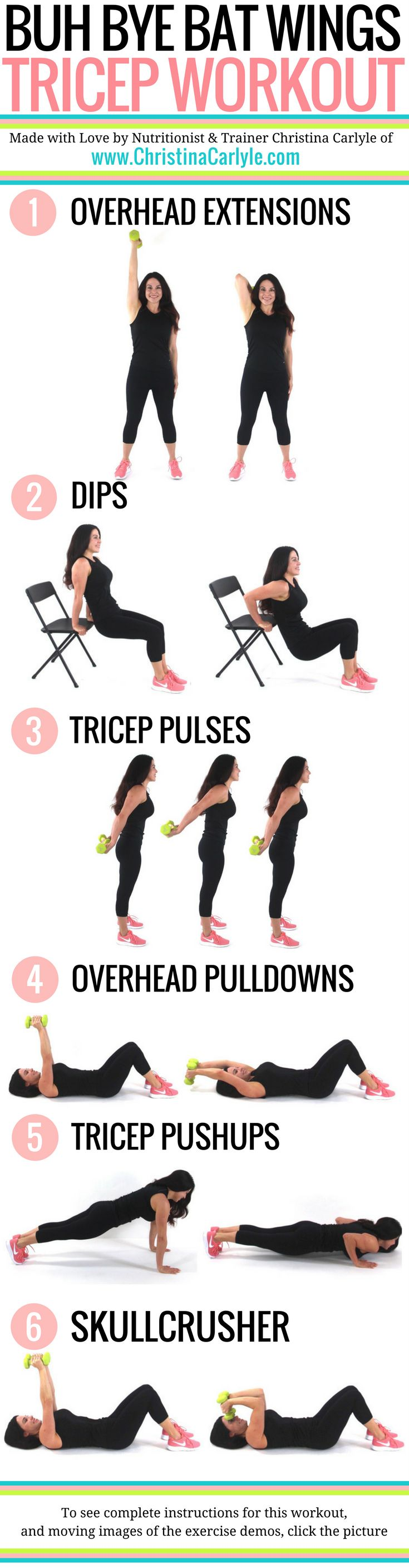 6 moves that will tighten your triceps fast Do your triceps make you feel self-conscious? Would you like to see definition in your triceps? Do you...