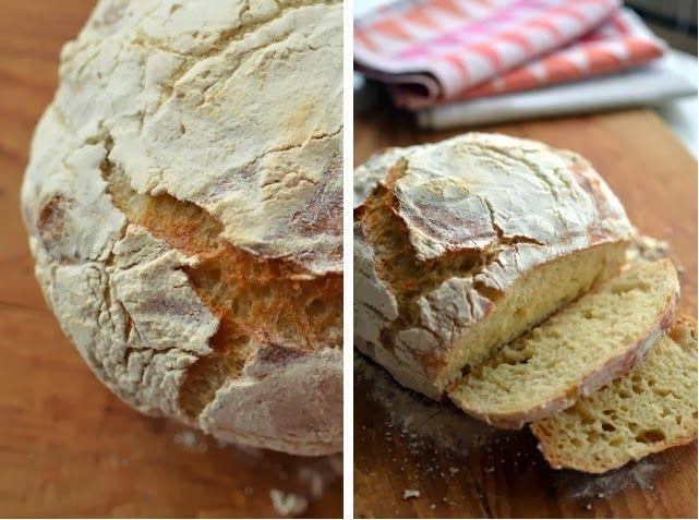 Ajatuksia Saksasta: Niin hyvä leipä ettei sanotuksi saa eli no-knead bread