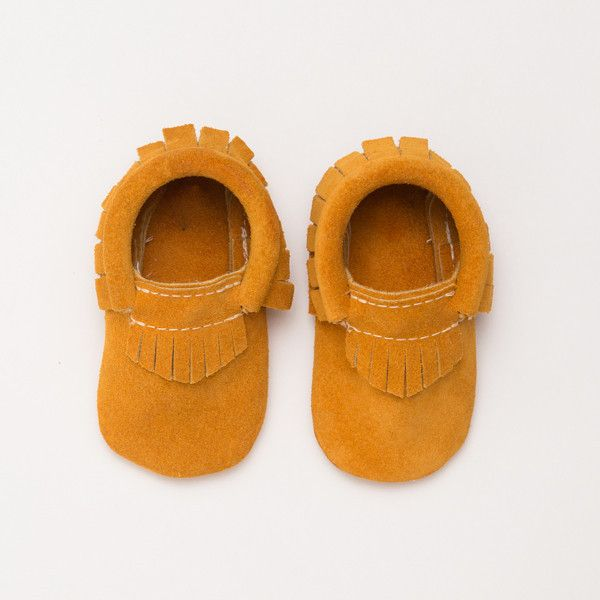 Stay Golden Suede - Limited Edition Moccasins