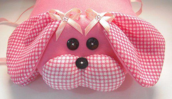 Travesseiro Cachorro Pink