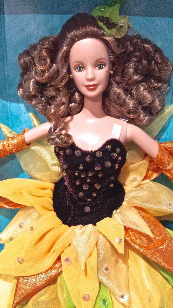 Details about Barbie Doll Collector Sunflower Vincent Van ...