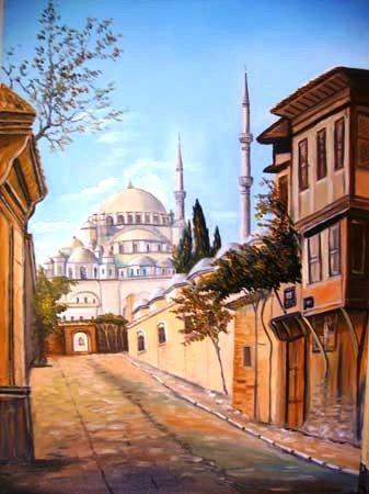 Ressam Mahmut YİĞİTOĞLU