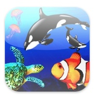 """The Deep Blue Kingdom    Older science-minded kids might love reading this app to themselves and flipping through the pictures of underwater animals and fish. Or, young children might be spellbound as the provided narrator (or mom or dad!) points out sea turtles and whales and delivers interesting facts. A """"Day at the Zoo"""" version is also available from the developer.  Price: $2.99  Developer: Imaginatronics  Download: App Store"""
