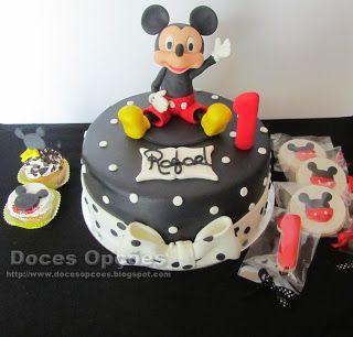 Doces Opções: Um aniversário com o rato Mickey
