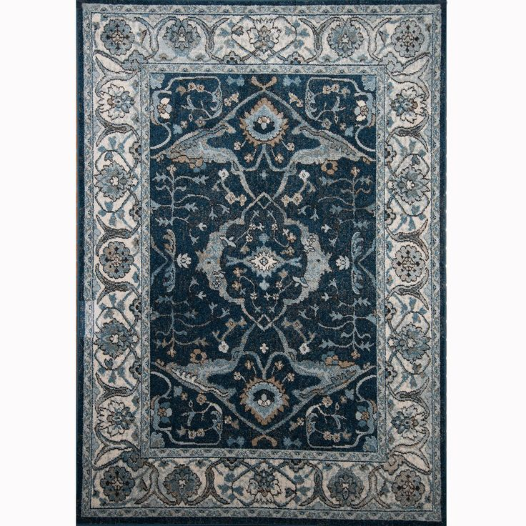 Reaction Navy Ivory Area Rug Area Rugs Indoor Area Rugs
