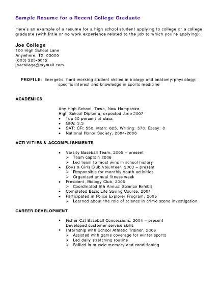 461 best Job Resume Samples images on Pinterest Job resume samples