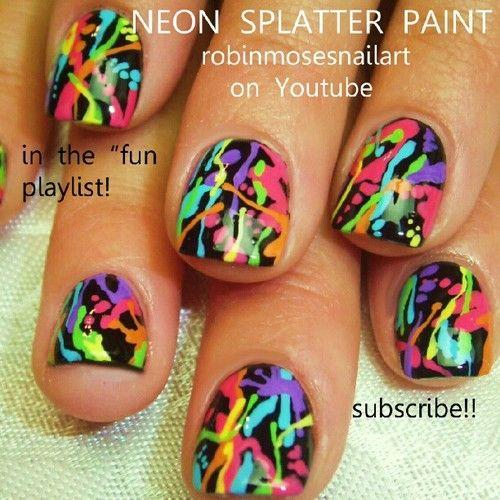 Neon Splatter @Adina Colón
